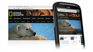 HTC Desire S Browsing Webpages