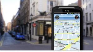 HTC Desire S Maps