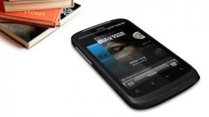 HTC Desire S eBook Reader