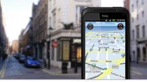 HTC Incredible S Maps