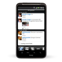 HTC Inspire 4G Social Updates