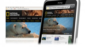 HTC Wildfire S Browsing Webpages