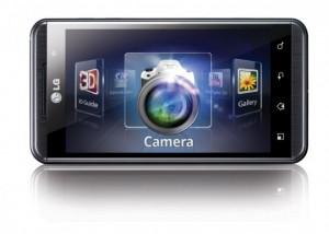 LG Optimus 3D Horizontal View