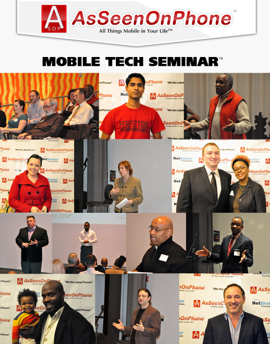 Summary of As Seen On Phone Presents Mobile Tech Seminar: Monetize Your Mobile