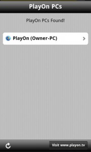 PlayOn Mobile Scanning for PCs