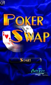 Poker Swap Start Screen