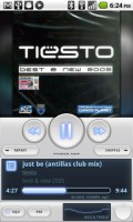 PowerAMP Music Player Playing Track 2