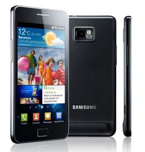 Samsung Galaxy S II Multiple Views