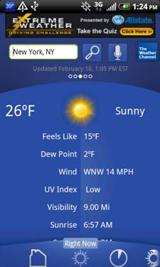 The Weather Channel Android App Gets Facelift and New Features