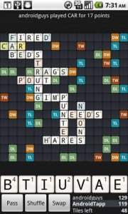 Wordfued in Game Play 2