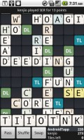Wordfued in Game Play 3