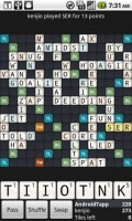 Wordfued in Game Play 4