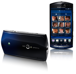 Xperia Neo Front and Back