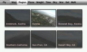X-Plane 9 Regions