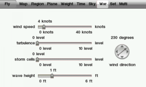 X-Plane 9 Weather