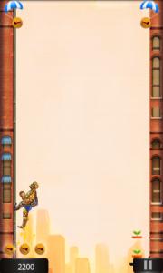 City Jump Stone Man