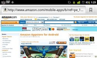 Amazon Android App Store Desktop Page