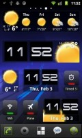 Beautiful Widgets Honeycomb Theme