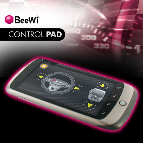 Use your Smartphone to Remote Control BeeWi Cars