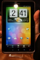 HTC Evo View 4G Sense Home Screen Portrait