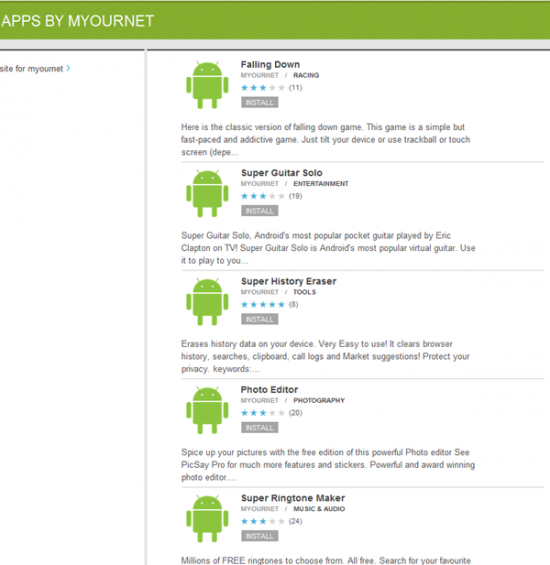 Android Apps Security Alert: Ripped Apps Loaded onto Official Android Market had Root Exploits and Worse