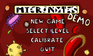 Micronytes Start Screen