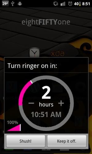 Shush! Ringer Restorer