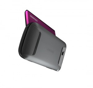 T-Mobile Sidekick 4G Rear Angle View