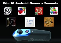 Win 10 Android Games like Speedx 3D plus Zeemote Giveaway