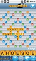 Words with Friends Full Game Board
