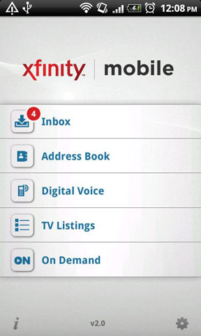 Comcast Releases Xfinity TV App for Android