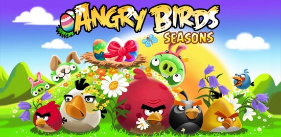 Angry Birds Seasons Easter now Available in the Android Market