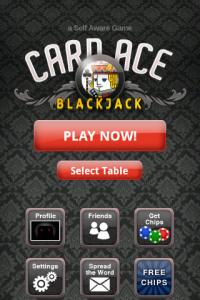 Card Ace Blackjack Main