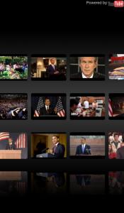 Droid Iris Obama YouTube Search