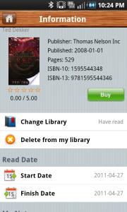FriendItem Book Information 3