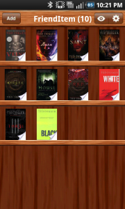 FriendItem Book Library
