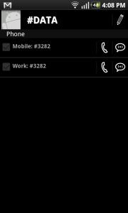 Komodo Address Book Contact View 1