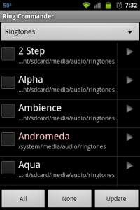 Ring Commander Ringtones
