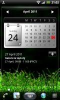 SPB Shell 3D Calendar Screen