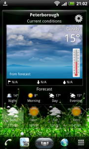 SPB Shell 3D Weather Widget