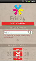 Friday - Search by Date