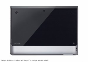 Sony S1 Android Tablet Back View