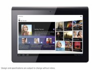 Sony S1 Android Tablet Front View