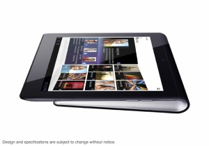 Sony S1 Android Tablet Side View