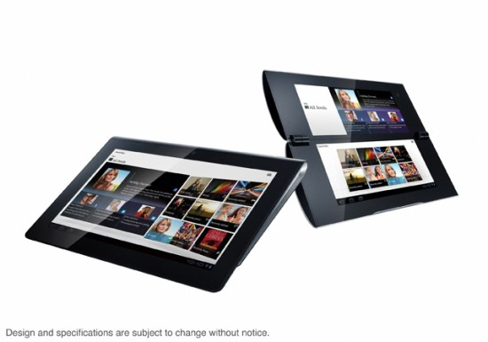 Sony Launching Sony S1 and S2 Android Tablets
