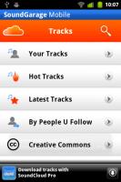 SoundGarage Track Page