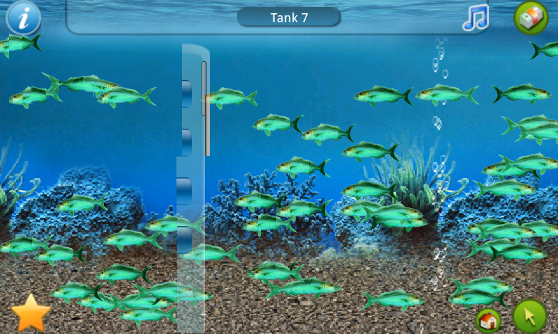 Tap fish school of fish androidtapp for Secret fish in tap tap fish