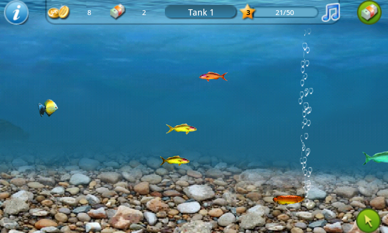 Tap fish tank 1 androidtapp for Fish tank app