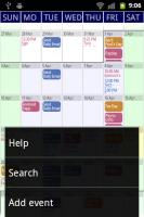 Touch Calendar More