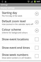 Touch Calendar Settings 1